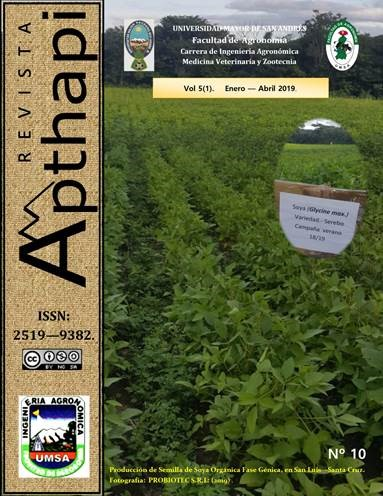 Publicación Revista Apthapi 5(1)
