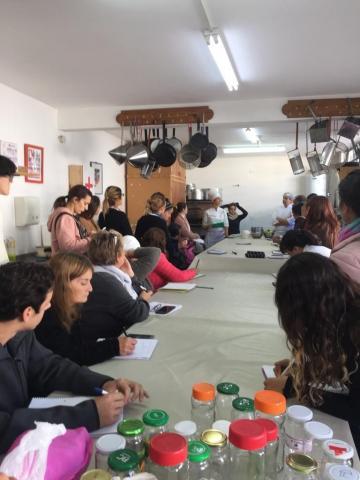 Capacitación gastronómica para estudiantes de Turismo Rural de la FAUBA
