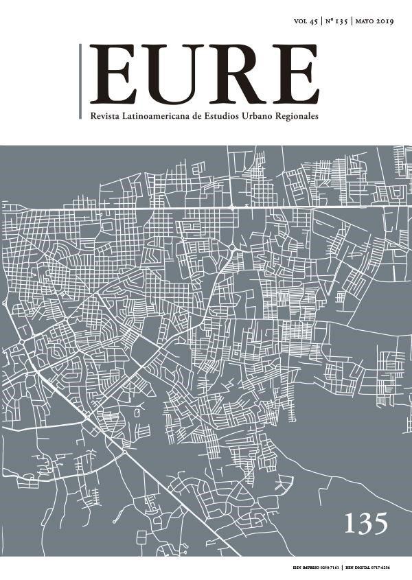 Revista EURE n. 135: Dossier Marginalidad Urbana