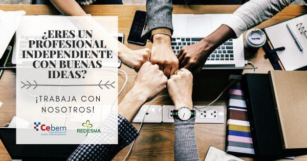 ¿Eres un Profesional Independiente con Buenas Ideas? ¡Trabaja con Nosotros!
