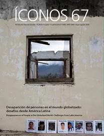 """Revista Íconos: invitación a presentar artículos sobre """"Desaparición de personas en el mundo globalizado"""""""