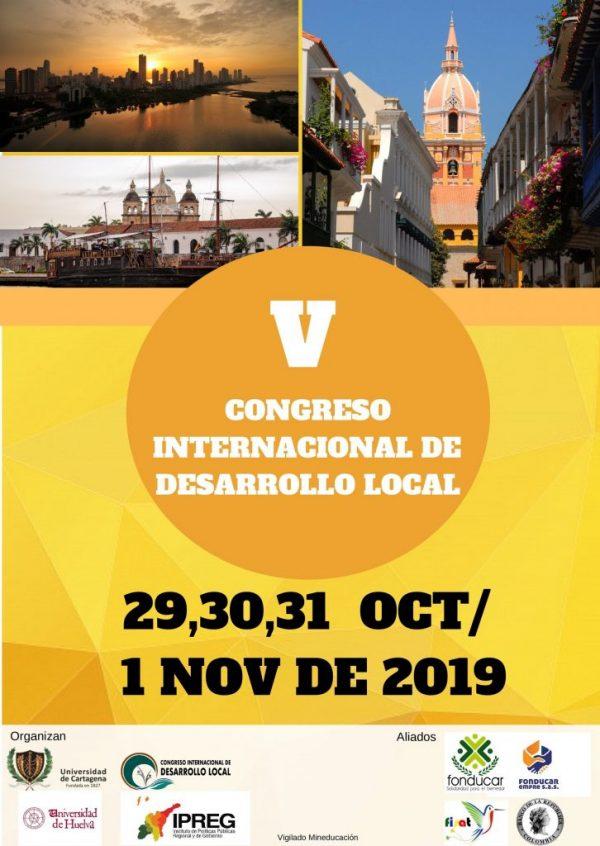 Se avecina el V Congreso de Desarrollo Local en Colombia