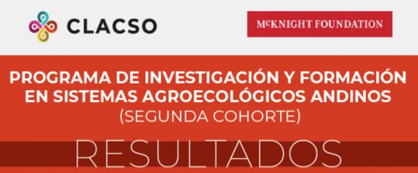 Resultados - Programa de investigación y formación en agroecología