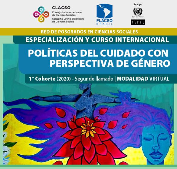 Inscripciones abiertas - Especialización y Curso Internacional - Políticas del Cuidado con Perspectiva de Género