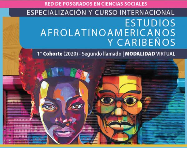 Inscripciones abiertas - Estudios Afrolatinoamericanos y Caribeños