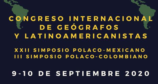 Convocatoria del Congreso Internacional de Geógrafos y Latinoamericanistas