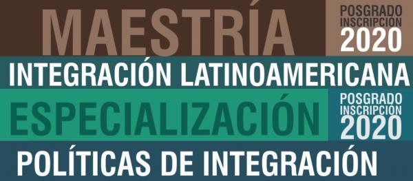 Inscripción Maestría y Especialización Ciclo 2020