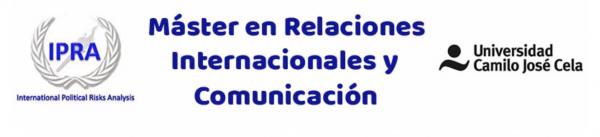 Máster de Relaciones Internacionales y Comunicación