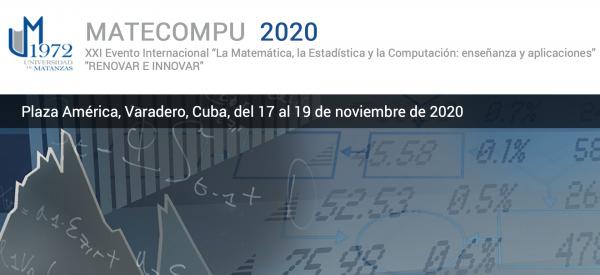 """XXII Evento Internacional """"La Matemática, la Estadística y la Computación: enseñanza y aplicaciones"""""""