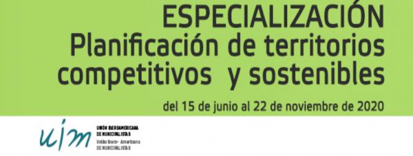 Especialización en Ordenamiento Territorial y Urbano Sostenible