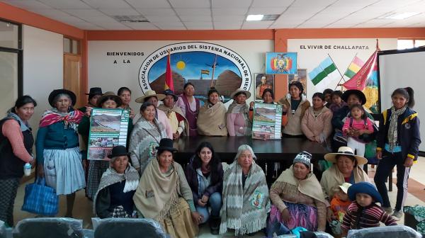 Las mujeres en defensa del Agua en Challapata