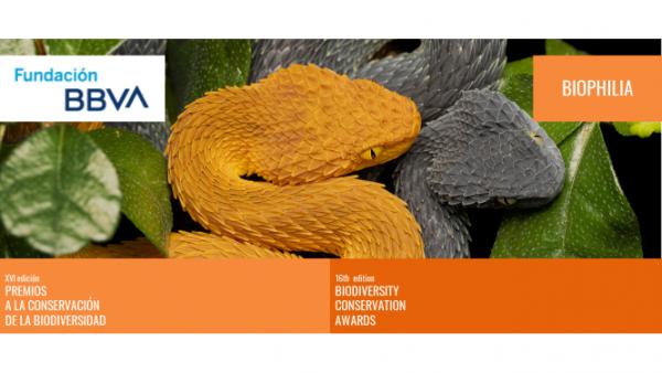 XVI edición Premios Fundación BBVA a la Conservación de la Biodiversidad