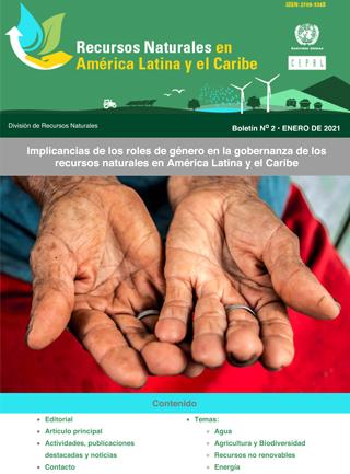 Implicancias de los roles de género en la gobernanza de los recursos naturales en América Latina y el Caribe.