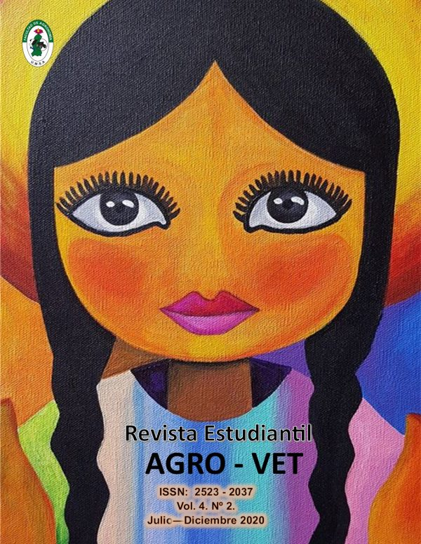 Revista Estudiantil AGRO-VET 4(2). Jul-Dic. 2020.