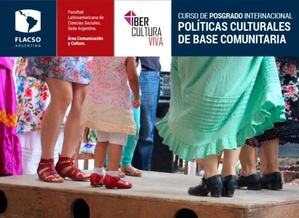 Políticas Culturales de Base Comunitaria
