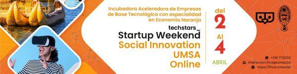 Startup Weekend UMSA