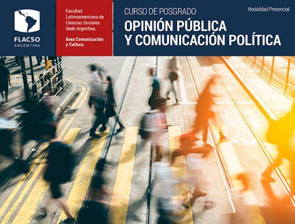 Posgrado Opinión Pública y Comunicación Política