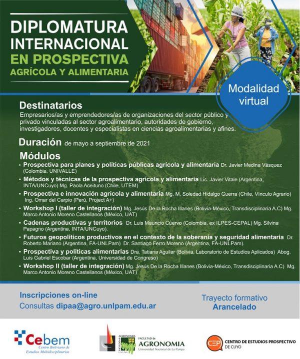 Diplomatura Internacional en Prospectiva Agrícola y Alimentaria